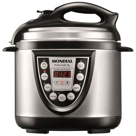 Panela de Pressão Pratic Cook 4L Mondial