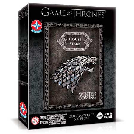 Quebra-Cabeça Game of Thrones - Casa Stark