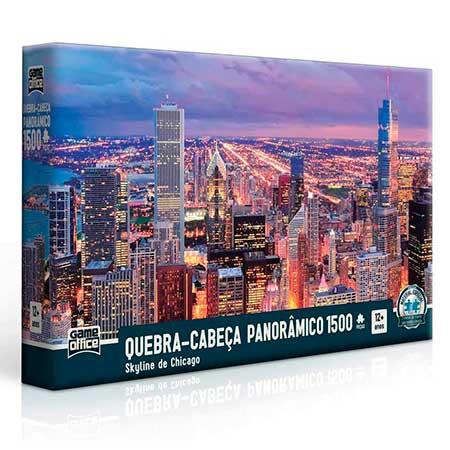 Quebra-Cabeça Skyline de Chicago