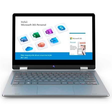 Notebook 2 em 1 Positivo Duo C4128C