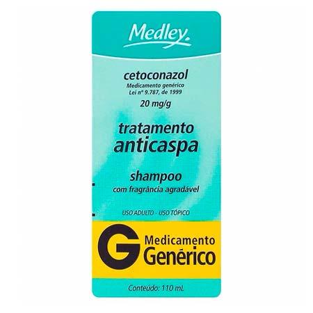 Shampoo Cetoconazol (Medley)