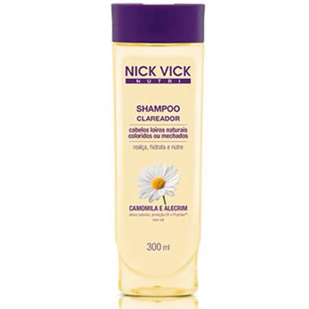 Shampoo Clareador Nutri Nick & Vick