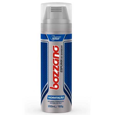 Espuma de Barbear Bozzano Hidratação