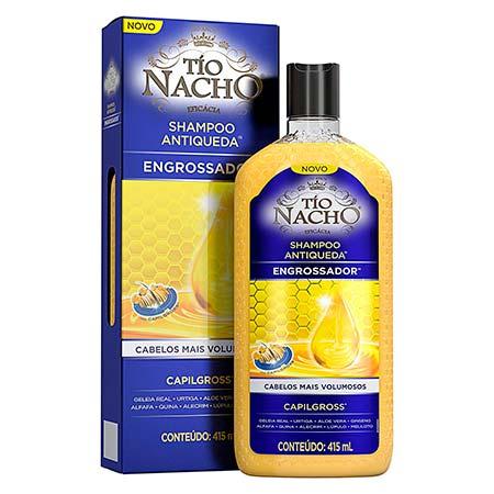 Shampoo Antiqueda Engrossador Tio Nacho (415ml)