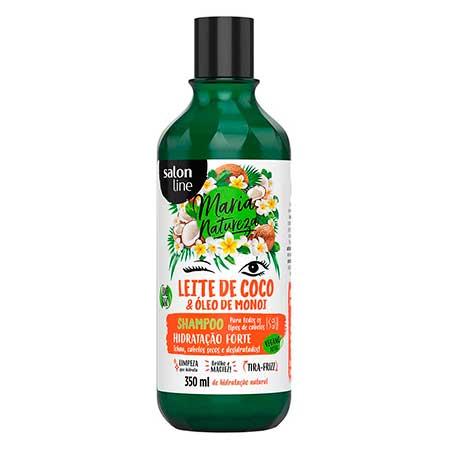 Shampoo Maria Natureza Leite de Coco Salon Line 350ml