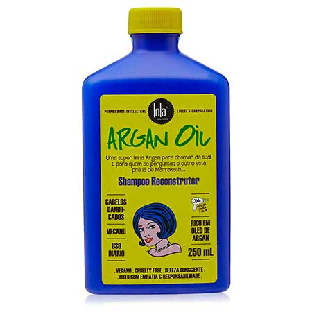 Shampoo Reconstrutor Argan Oil Argan/Pracaxi (Lola Cosmetics)