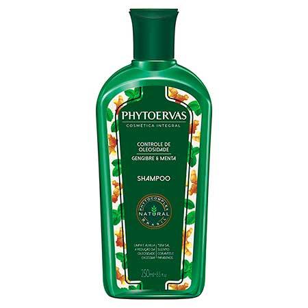Shampoo Gengibre e Menta Phytoervas