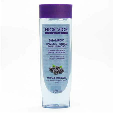 Shampoo Nick & Vick Raízes e Pontas Equilibradas