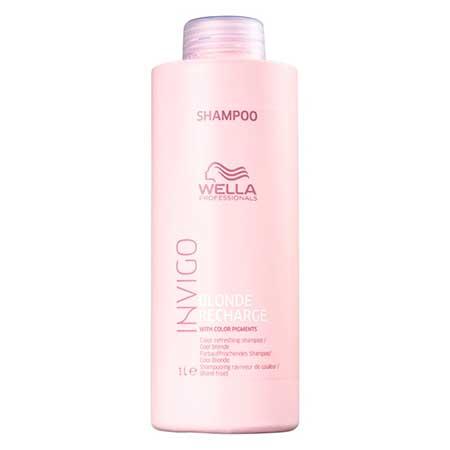 Shampoo Desamarelador Invigo Blonde Recharge Wella
