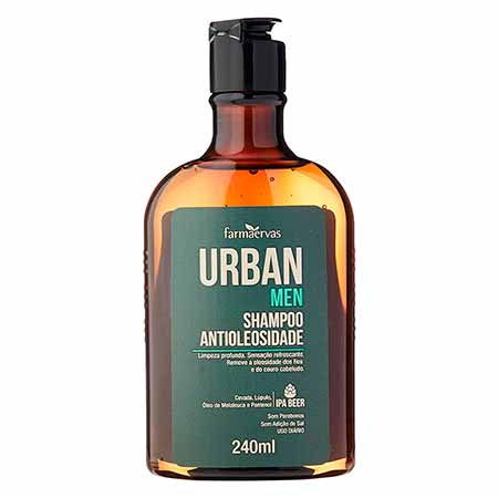 Shampoo Antioleosidade Urban Men 240ml