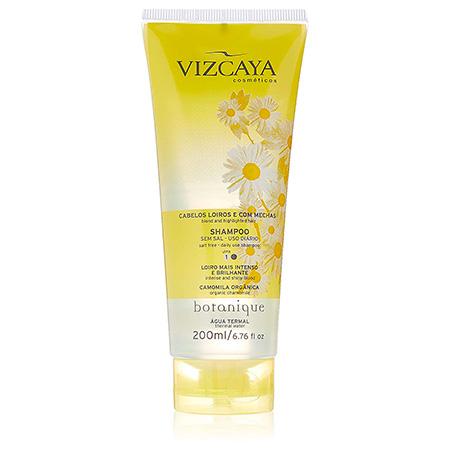Shampoo Cabelos Loiros e com Mechas Vizcaya
